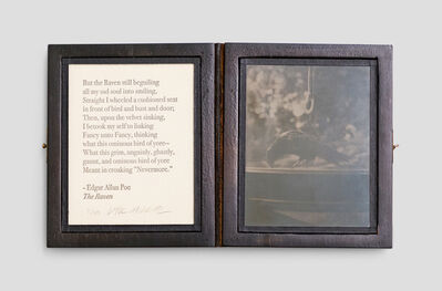 Vik Muniz, 'Crow (Poem by Poe)', 2005