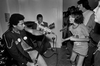 Lucian Perkins, 'HR and Dr. Know, Hard Art Gallery', 1979