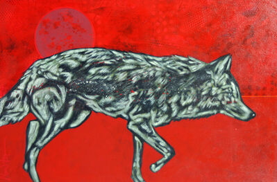 "Nocona Burgess, '""Red Planet Coyote""', 2019"