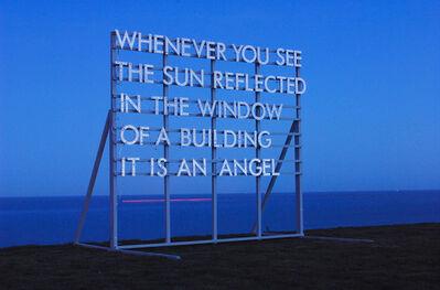 Robert Montgomery, 'Angel Piece', 2016