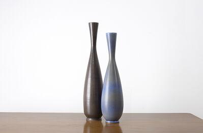 Berndt Friberg, 'Pair of Studio Vases, Gustavsberg, Sweden', ca. 1950