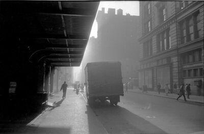 David Vestal, 'West 22nd Street at 6th Avenue, New York, October', 1966