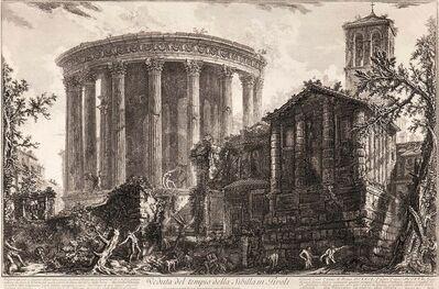 Giovanni Battista Piranesi, 'Veduta del Tempio della Sibilla in Tivoli', 1761