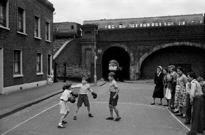 Frank Horvat, 'London, Lambeth - Boxing Boys', 1955