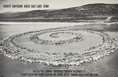 Robert Smithson, 'Robert Smithson: Great Salt Lake, Utah', 1970