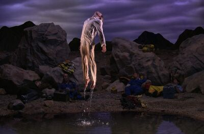 Bill Viola, 'First Light, Panel 5 of 5 panels from Going Forth By Day', 2002