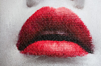 Martin Rondeau, 'Geisha(Geesha)Girl-2 Lips', 2018
