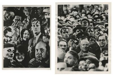 Murray Moss, 'TQ 43/44: Extras/Nikita Khruschev with Officers of the Secret Police', NA/1959