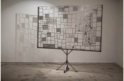 Tom Fruin, 'FULL PATTERN BILLBOARD AT 1/2 SCALE', 2013