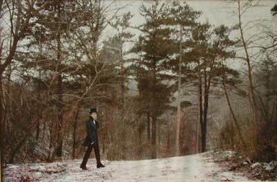 Luigi Ontani, 'Gentiluomo nella foresta', 1979