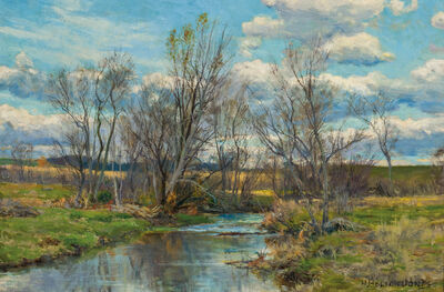 Hugh Bolton Jones, 'Landscape with Stream'
