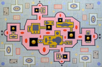 Karla Knight, 'Fleet 3 (Bigger Pink)', 2020