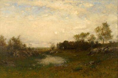 Alexander Helwig Wyant, 'Wayside Pool', ca. 1890