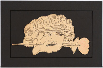 Andy Warhol, 'Portrait of Hermione Gingold', 1953/4