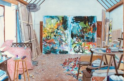 Damian Elwes, 'Joan Mitchell's Studio in Vetheuil/France', 2017