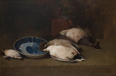 Soren Emil Carlsen, 'Ducks Still Life', 1897