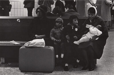 Ed Sievers, 'Untitled (Woman with children at station)', ca. 1960