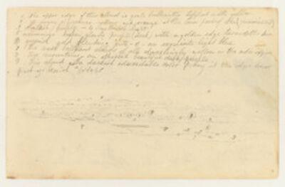 Frederic Edwin Church, 'Cloud Studies', 1844
