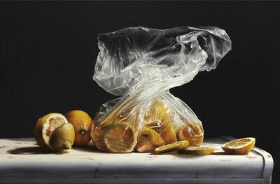 Larry Preston, 'Lemons in Plastic', 2019