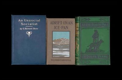 "Nina Katchadourian, '""An Unsocial Socialist"" from ""Once Upon a Time in Delaware/In Quest of the Perfect Book"" (""Sorted Books"" project, 1993--ongoing)', 2012"