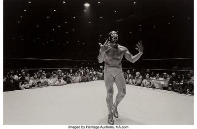 Geoff Winningham, 'Houston Wrestler', 1971-printed later