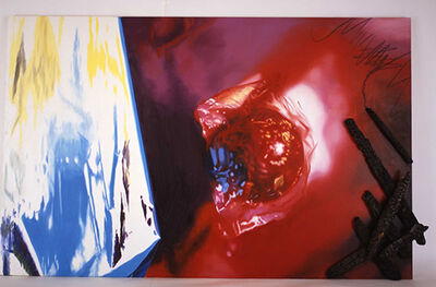 James Rosenquist, 'The Flame Dances to the Mirror while the Charcoal Draws', 1993