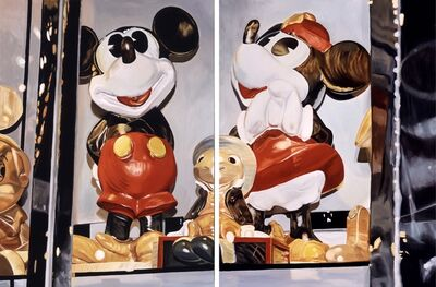 Andrea Alvin, 'Big Mickey and Big Minnie (Diptych)', N/A