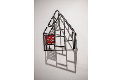 Tom Fruin, 'HOUSE SKETCH WITH LASER CUT-PANEL', 2013