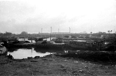 Loke Hong Seng, 'Deserted Boats on Kallang River', 1980
