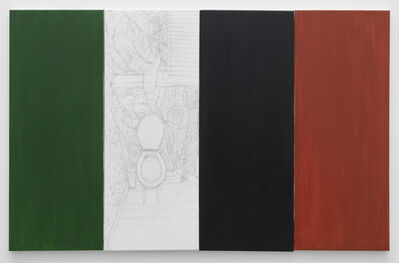 Juliette Blightman, 'Green, Lily, Black, Red', 2020