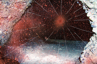 Maya Rochat, 'A man in a cave 2', 2014