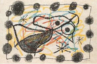 Joan Miró, 'Bouquet de Rêves pour Neila', 1967