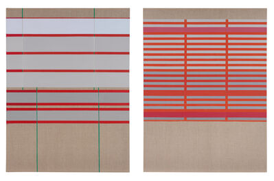 José Heerkens, 'This afternoon, diptych', 2017-2018