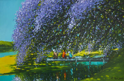 Le Thanh Son, 'At The River', 2018