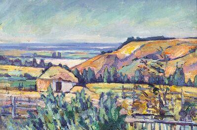 Anton Stanislavovich Yastrzhembsky, 'Landscape in Crimea', 1922