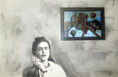 F. Lennox Campello, 'Frida Smoking', 2017
