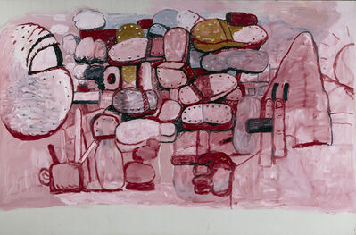 Philip Guston, 'Confrontation', 1974