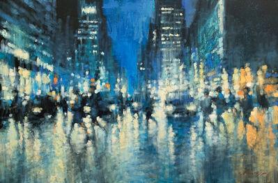 David Hinchliffe, 'Pitt Street Shadows'