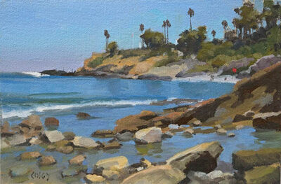 John Cosby, 'View From Rockpile, Laguna', 2019