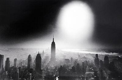 William Klein, 'Atom Bomb Sky, New York', 1955