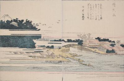 Katsushika Hokusai, 'Matsuchiyama', 1802