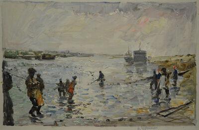 Aleksandr Nikiforovich Chervonenko, 'Fishermen', 1975