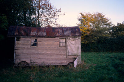 Justin Partyka, 'Shepherd Hut, Walnut Tree Farm, Suffolk', 2006