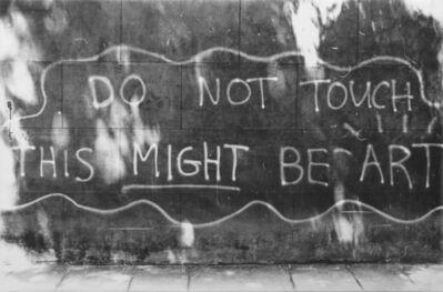 Dario Villalba, 'Do not touch  this might be art', 2013