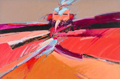 Dan Namingha, 'Canyon Wren Kachina', 1984