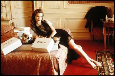 Arthur Elgort, 'Kate Moss, Hotel Raphael, Paris', 1993