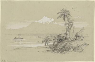 Frederic Edwin Church, 'Magdalena River, New Granada, Equador', 1853