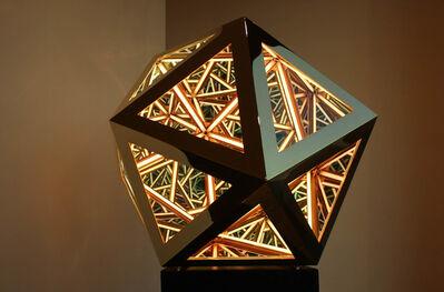 Anthony James, 'Portal Icosahedron (Gold)', 2020