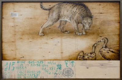 Joseph Rossano, 'Sabertooth Cat & Vulture', 2020