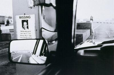Jeffrey Silverthorne, 'Tricia Kellett, Illinois Tollroad', 1988